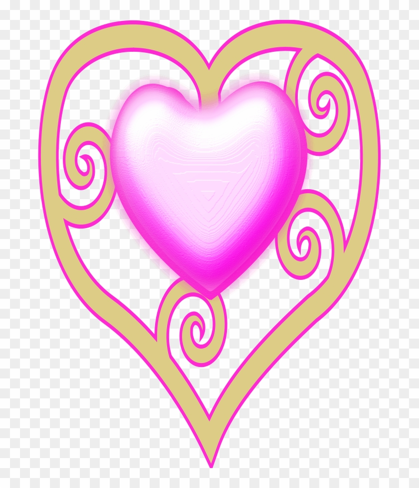 Frog Prince Clipart, Vector Clip Art Online, Royalty - Pink Heart Design Shower Curtain #71730