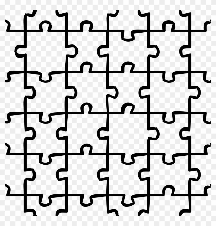 Puzzle Clipart Clipart - Puzzle Patterns #71762