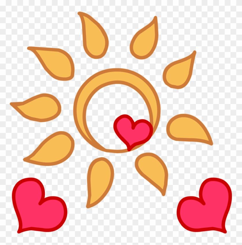 Happy Sun Clipart - Mlp Sun Cutie Mark #71783