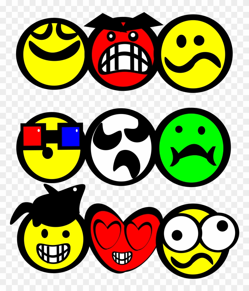 Smiley Face Clipart Vector Clip Art Online Royalty Gambar Kartun Smile Keren Free Transparent Png Clipart Images Download