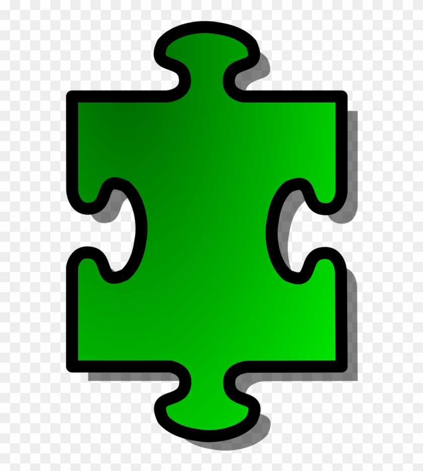 Puzzle Clipart Transparent Background - Puzzle Pieces Clip Art #71848