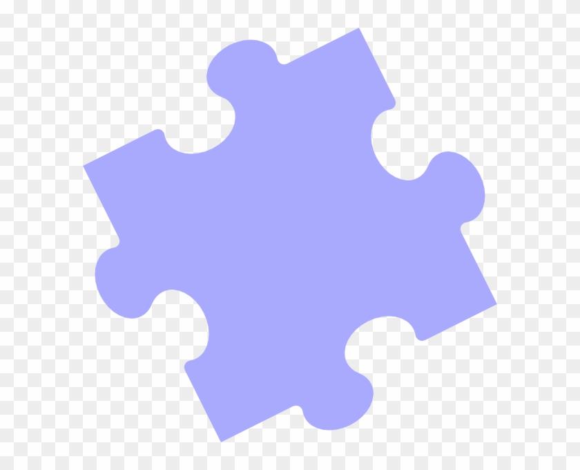 Puzzle Piece Blue Svg Clip Arts 600 X 600 Px - Puzzle Piece No Background #71919