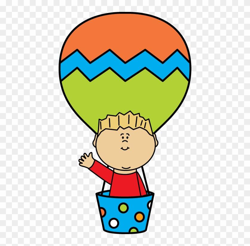 Boy In A Hot Air Balloon - Boy In Hot Air Balloon #71978