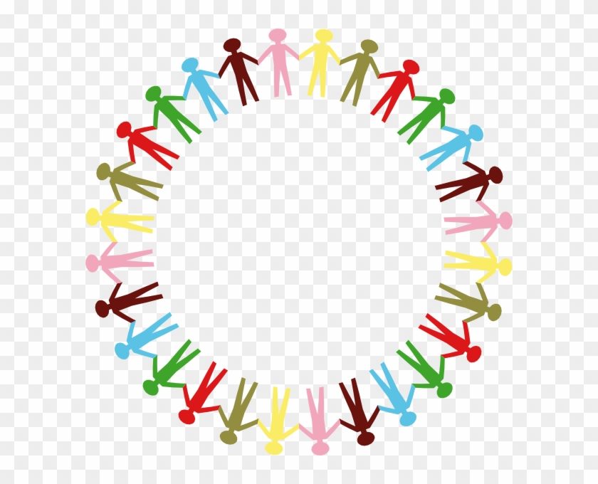 Clipart Of Unity Clip Art At Clker Com Vector Online - Circle Of People Holding Hands #72006