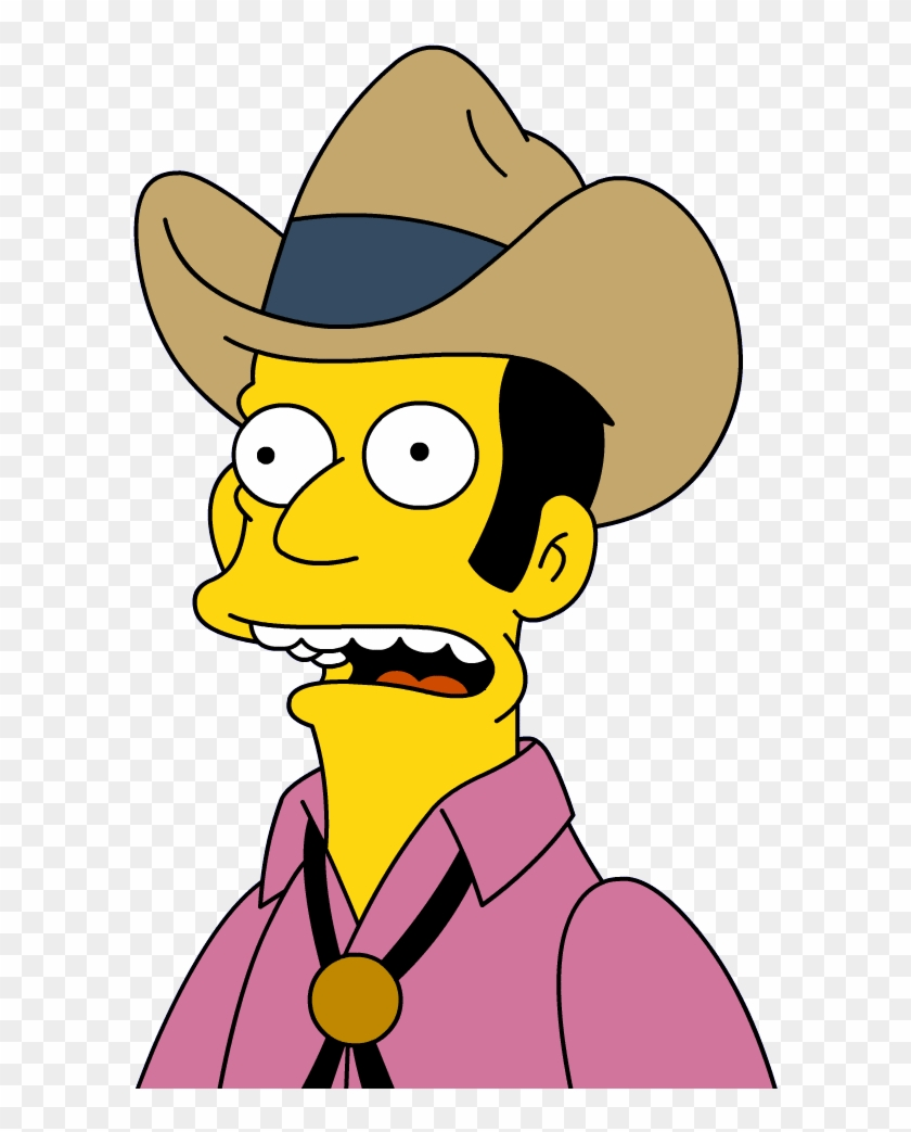 Cowboy Bob The Simpsons #72060