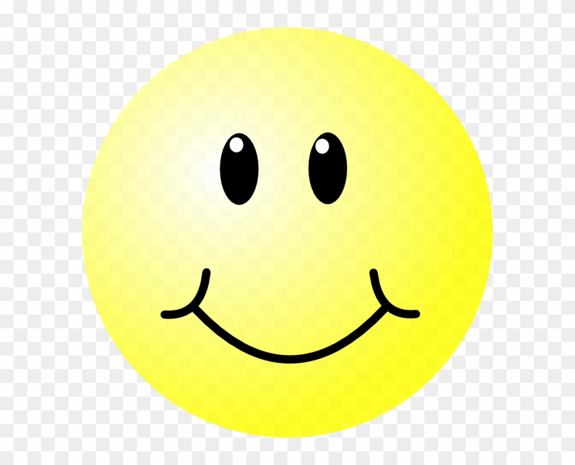 Smiley Face Clip Art At Clker - Big Happy Face #72272