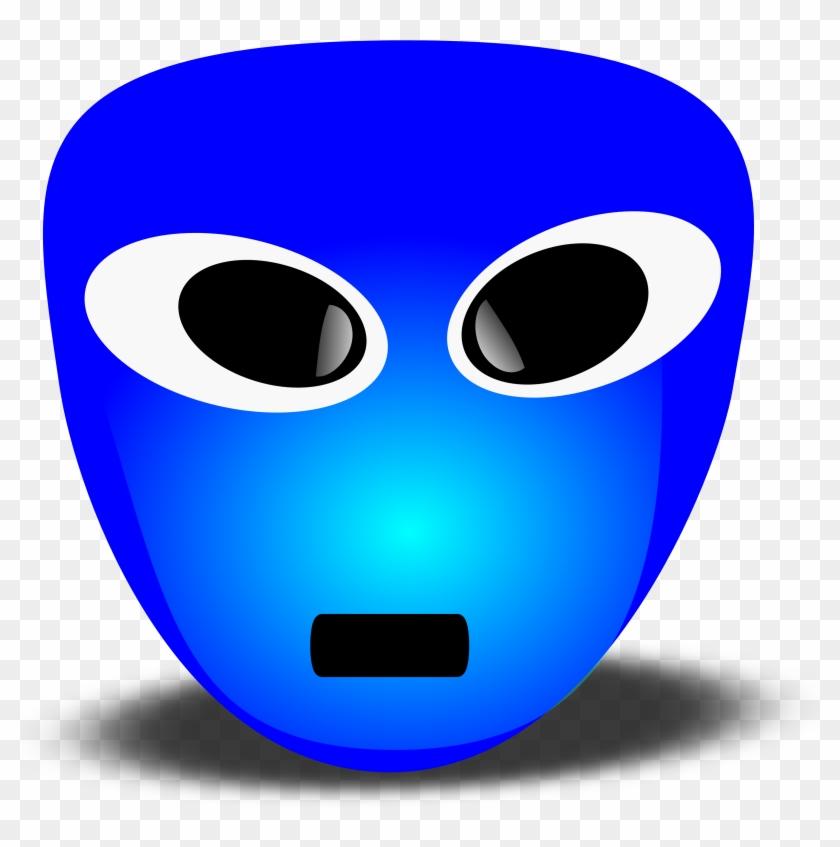 Smileys Clipart Logo - Blue Smiley Face #72377