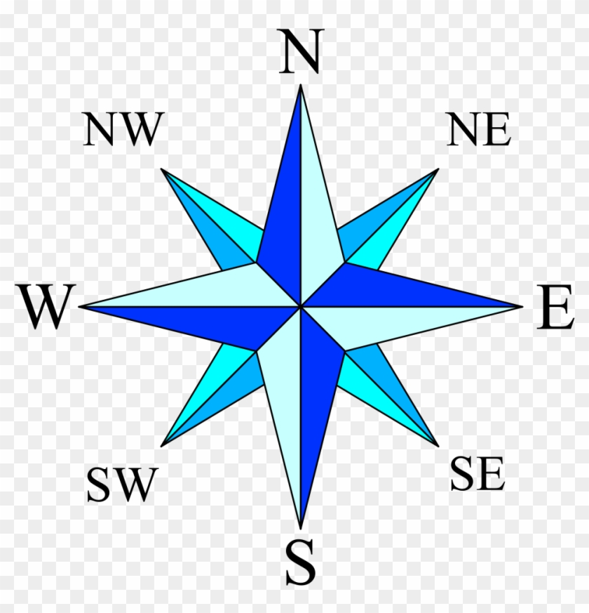 Compass Rose Simple - Compass Rose #72425