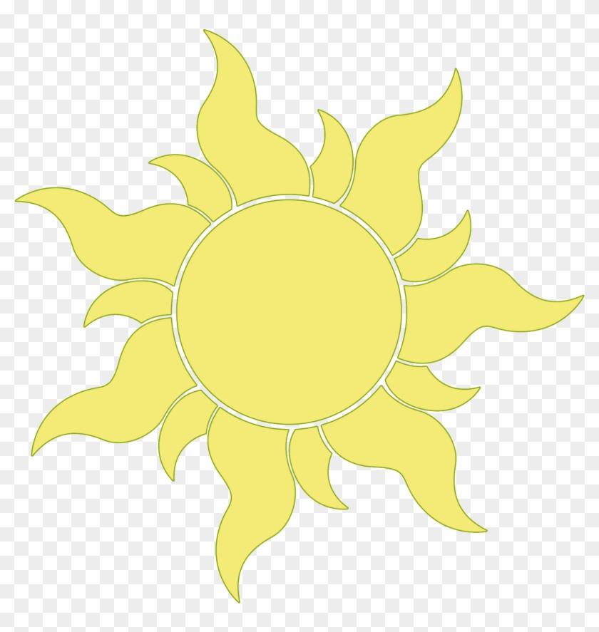 Sun Tangled Clipart - Tangled Sun #72621