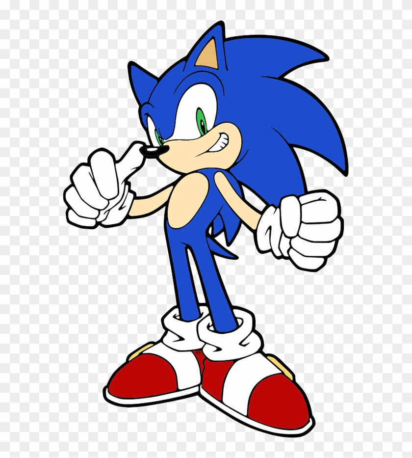 Sonic The Hedgehog Clip Art Images Cartoon - Sonic The Hedgehog Drawing #72674