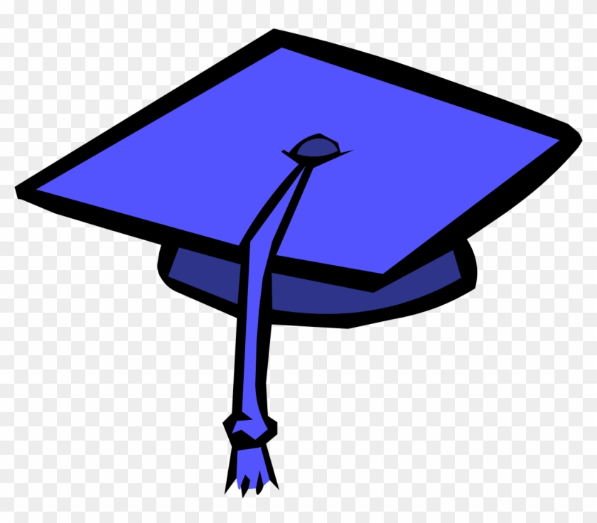 Images For Graduation Cap Png - Blue Graduation Cap Clipart #72681