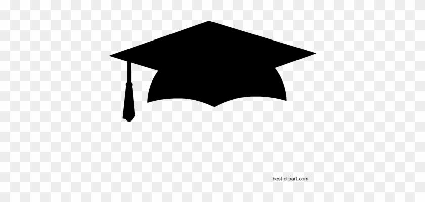 Free Graduation Hat Clip Art - Clip Art Graduation Cap #72832