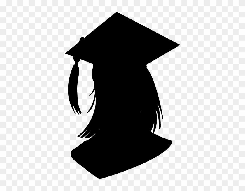 graduate silhouette clipart - 820×657