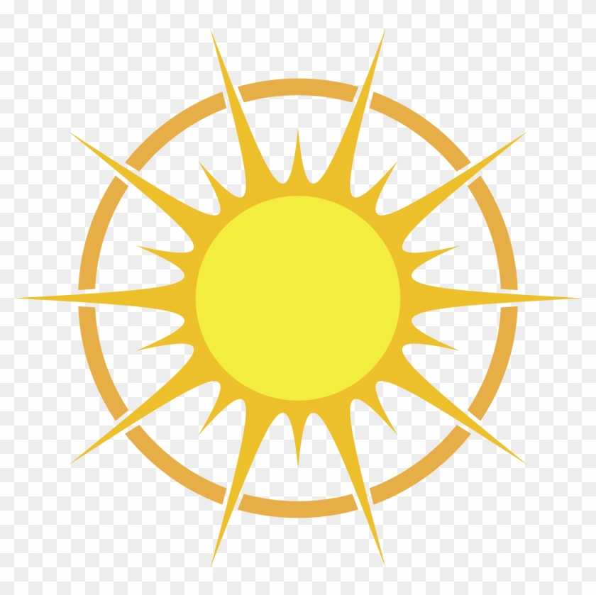 Free Clipart Of A Summer Sun - Globe Icon Png White #73235