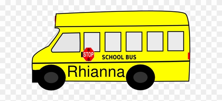 Name Tag Clipart Free Download Clip Art - School Bus Clip Art #73296