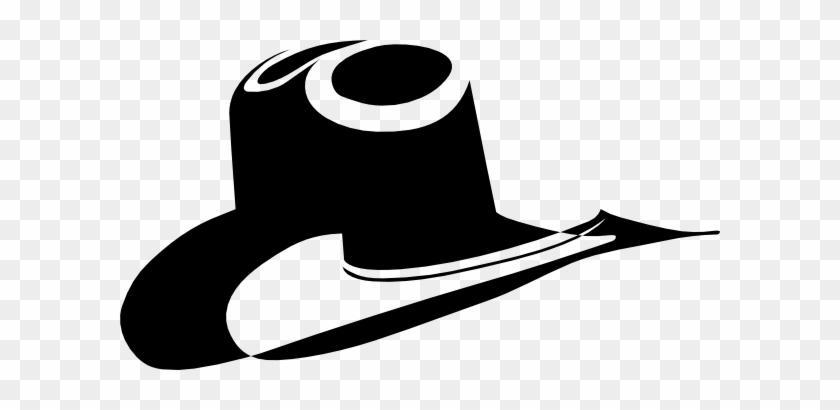 Cowboy Hat Clipart Hatblack - Black Cowboy Hat Clip Art #73571
