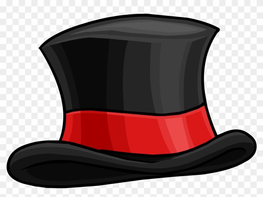 Christmas Snowman Hat Clip Art Information - Club Penguin Top Hat #73691