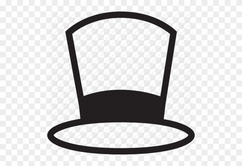 Hat Clipart Black And White - Top Hat Clip Art #73699