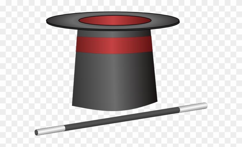Magic Top Hat Jh Clip Art At Vector Clip Art Online - Top Hat Clip Art #73701