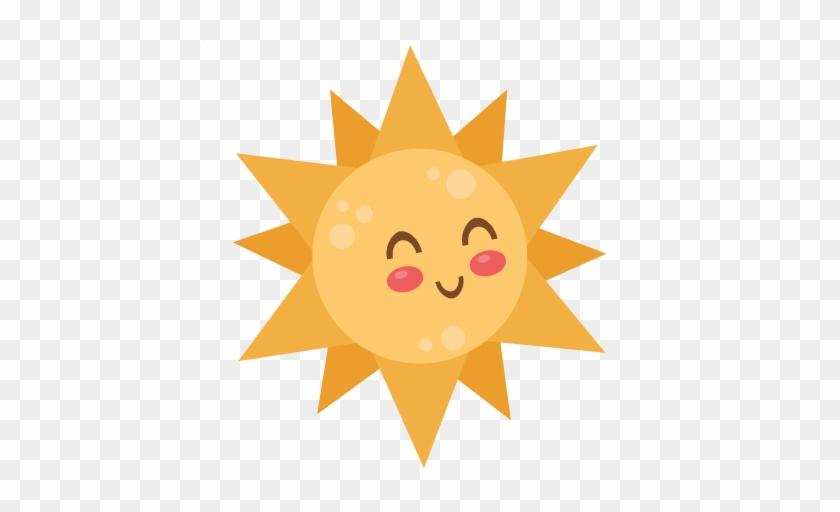 Sun Svg Scrapbook Cut File Cute Clipart Files For Silhouette - اربع وعود من الله #73788
