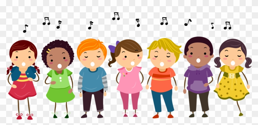 choir picture kids singing clipart free transparent png clipart rh clipartmax com Girl Singing Clip Art Instruments Clip Art