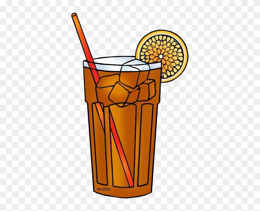 South Carolina State Hospitality Beverage - Clip Art Iced Tea #74356