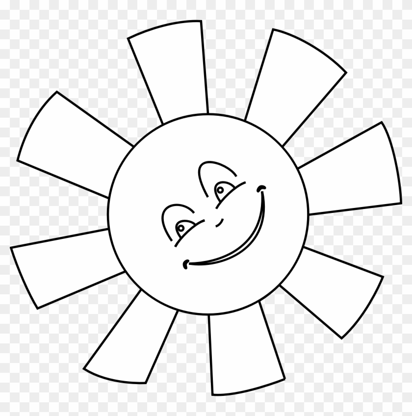 Girlfriend Laughing Face Clip Art Hot Smiley Sun Clipart - Sun Printable Coloring Pages #74468