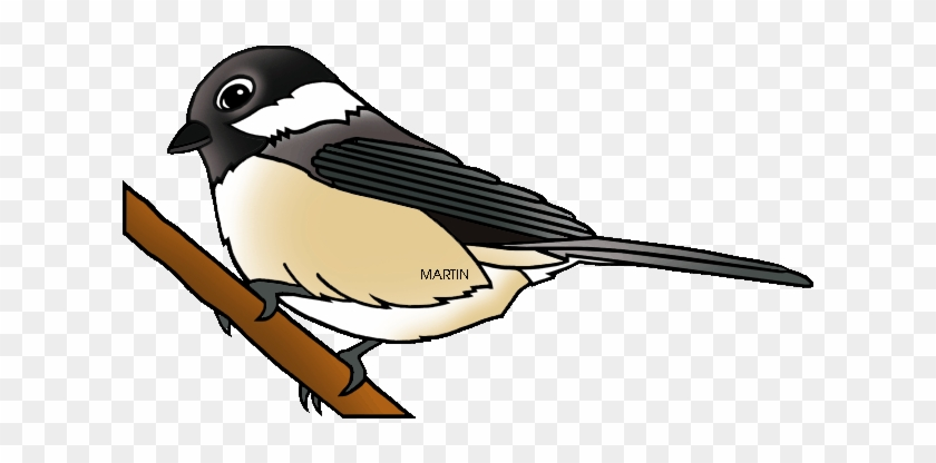 Free United States Clip Art By Phillip Martin, State - State Bird Of Maine #74471