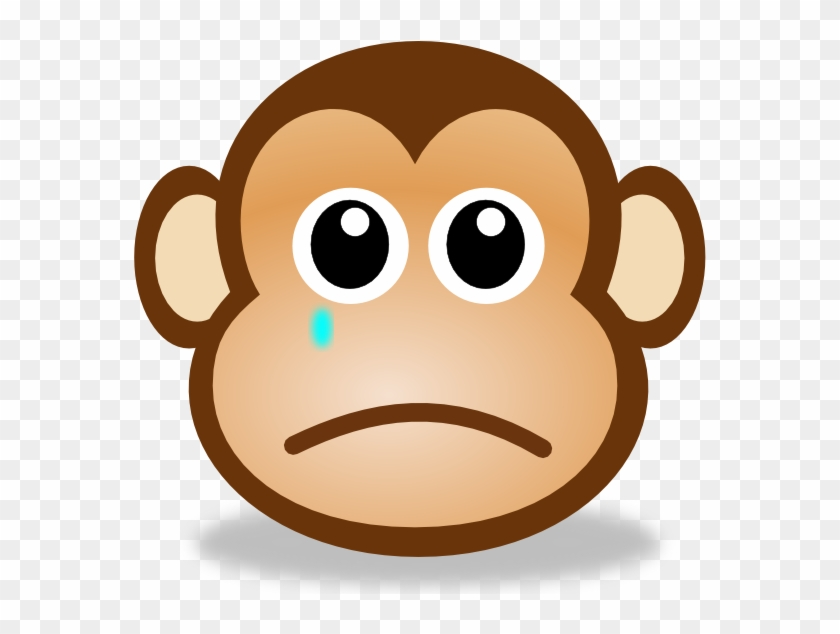 sad monkey face 2 clip art sad face moving animation free