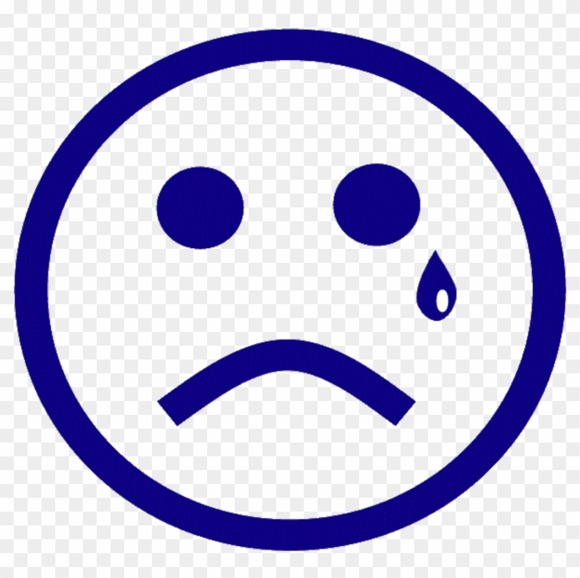 Sad Face Images - Sad Face With A Tear #74602