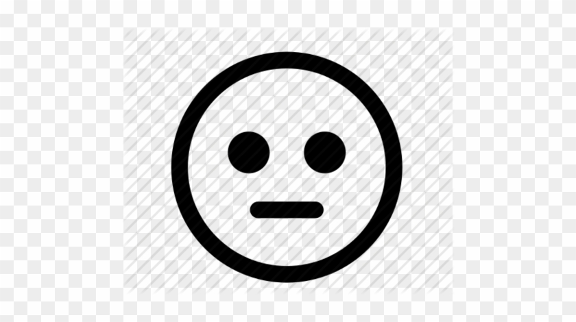 Neutral Face Cliparts Sad Face Icon Vector Free Transparent Png