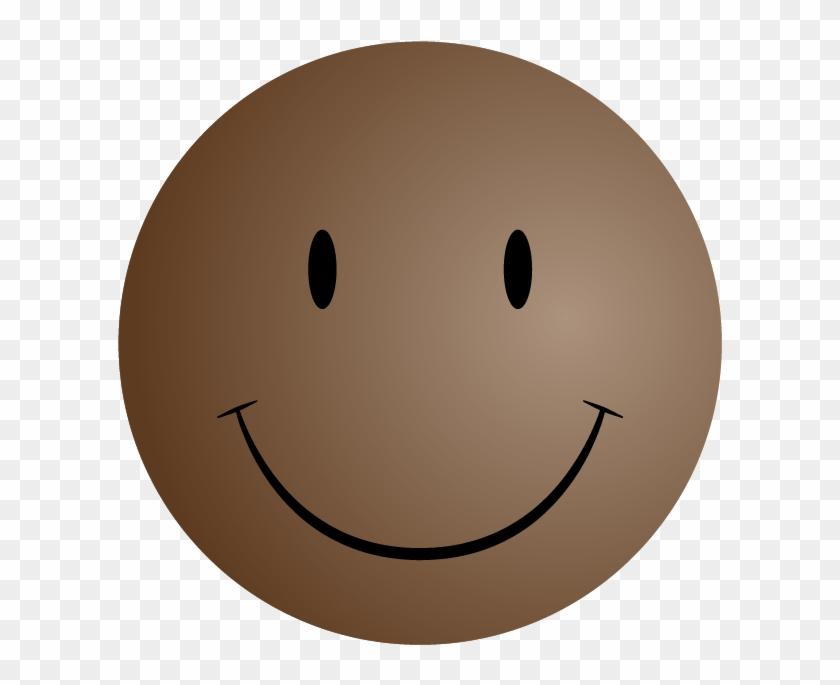 Smiley Face Symbols - Brown Smiley Face Emoji - Free Transparent ...