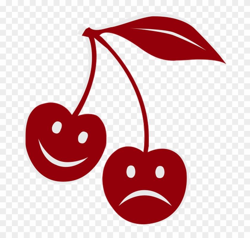 Happy Sad Cherry Feelings Emotions Face Smile - My Cherry Cherries Shirt #74657