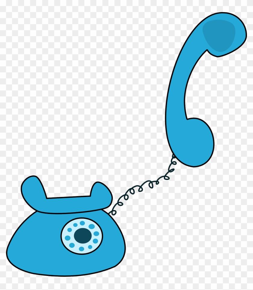 Teacher On Phone Clip Art #74820