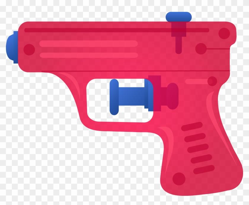 Clip Art Gun - Drawing Of Toy Gun #74858