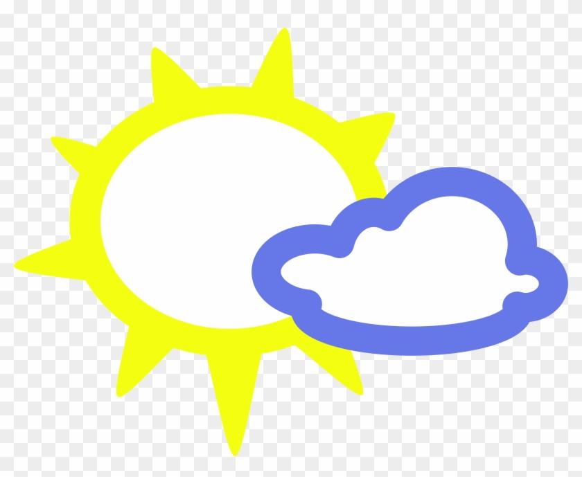 Big Image Weather Symbols Sun Free Transparent Png Clipart