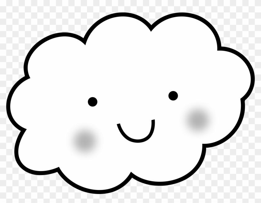 Cute Cloud - Nubes Para Colorear - Free Transparent PNG Clipart ...
