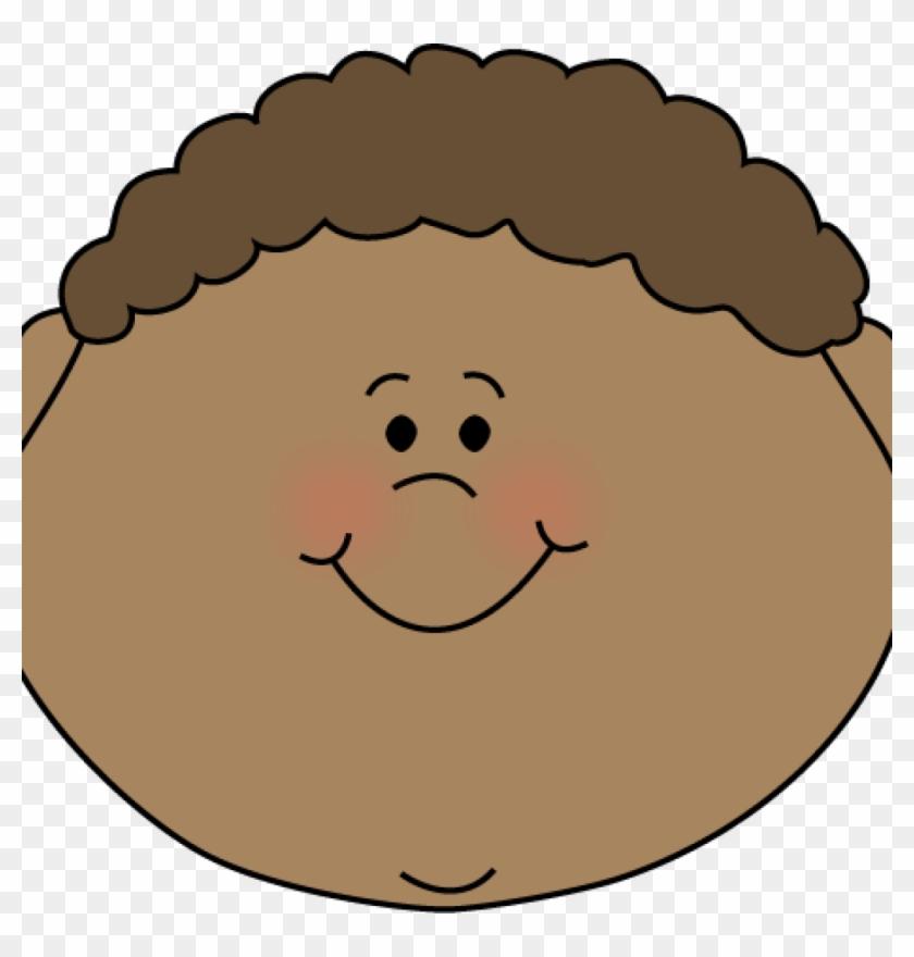 Face Clipart Little Boy Happy Face Clip Art Clipart - Boy Sad Face Cartoon #75321