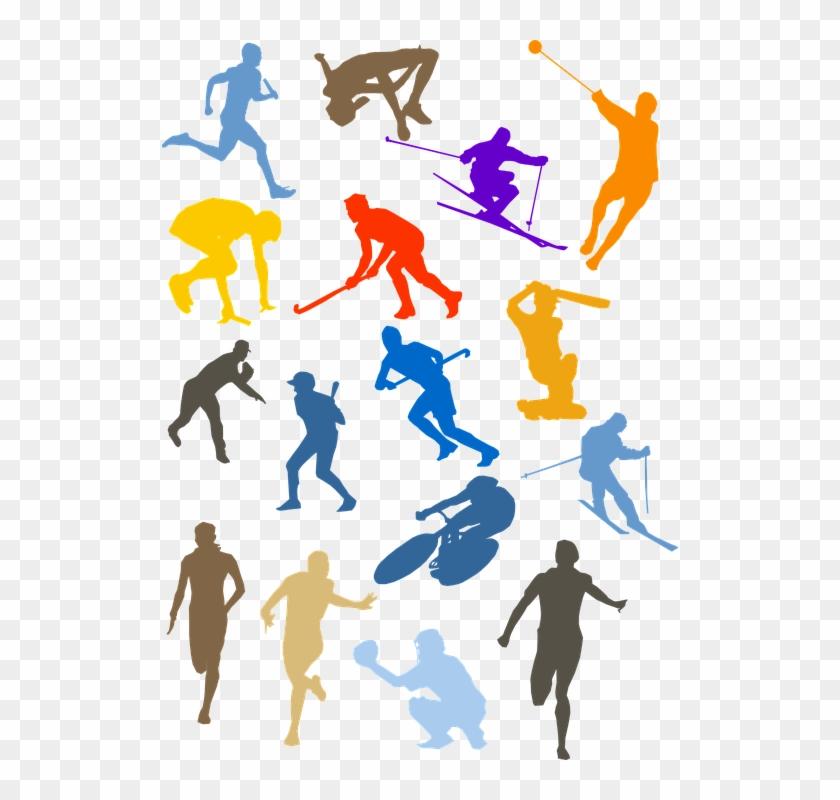 Baseball Bicycle Cricket Cycling Hockey Run - Sports Clip Art Png #75635