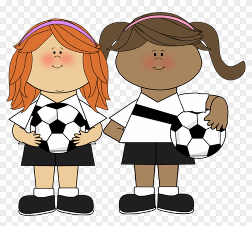Free Picture Of A Hockey Puck, Download Free Clip Art, - Girls Playing Soccer Clip Art #75712