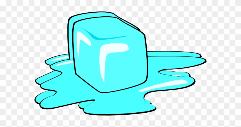 Ice Cube Baby Clip Art At Clker - Ice Cube Melting #75741