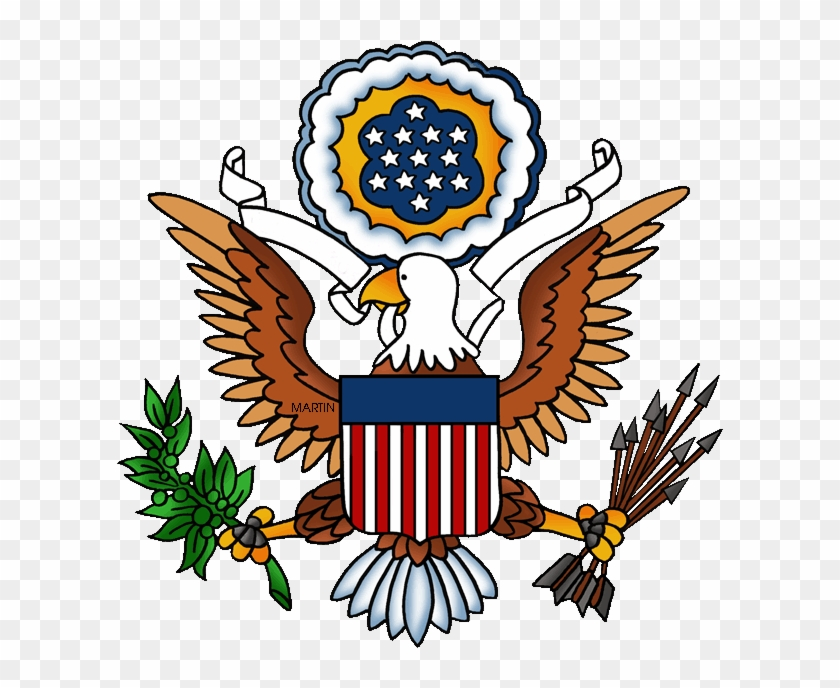 United States Clip Art - Great Seal Of The United States #75797