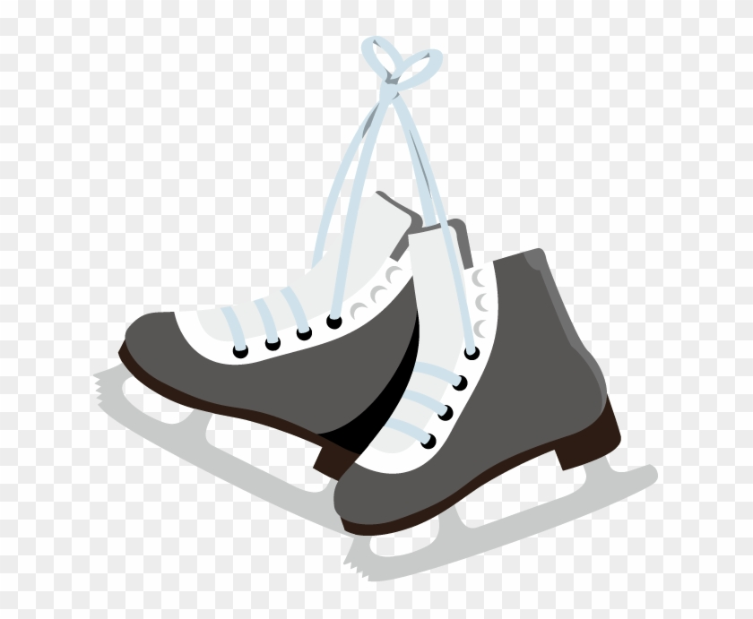 Skater - Clipart - Clip Art Hockey Skates #75824