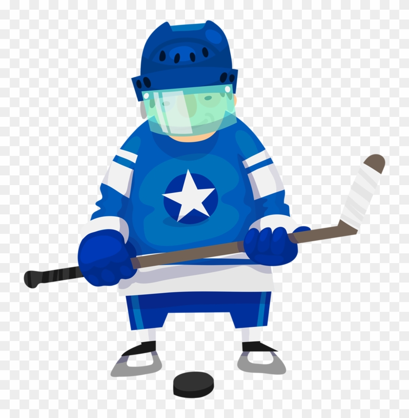 Personnages, Illustration, Individu, Personne, Gens - Want To Be A Hockey Player! Coloring Book #75832
