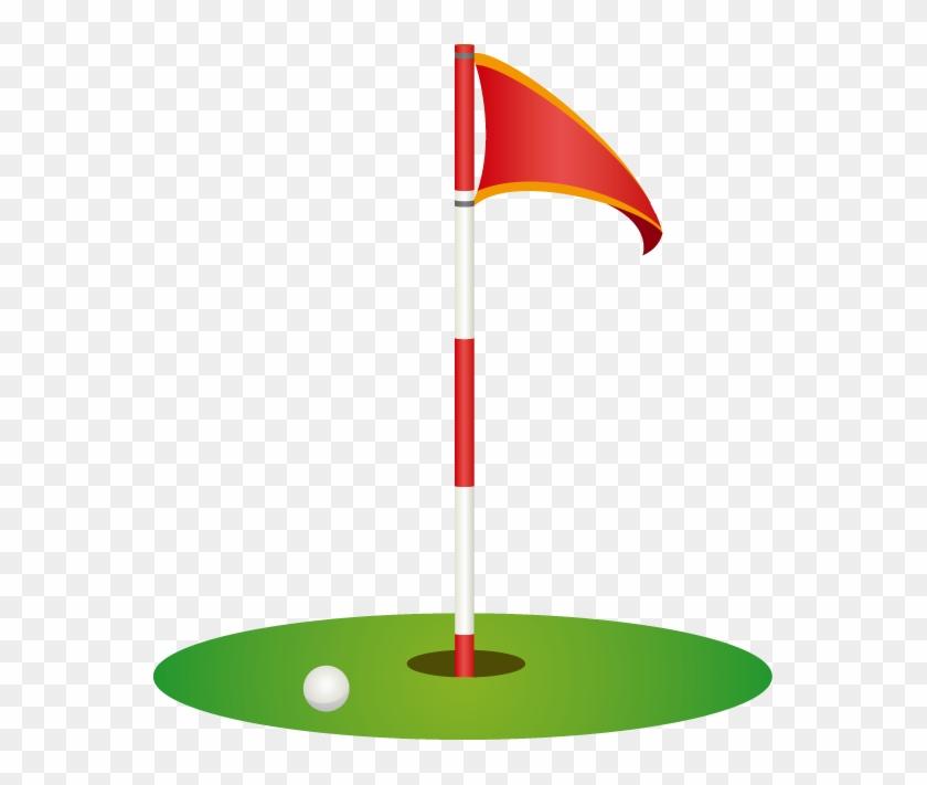 Golf Flag Golf Clipart Explore Pictures - Golf Flag Clip Art #75864