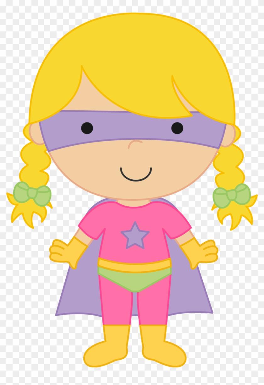 Super Girl Clipart Kid - Superhero Clip Art Girls #76011