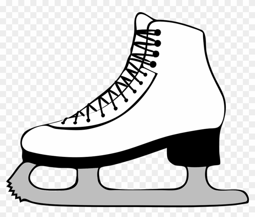 Ice Skating To Benefit Butte Creek School Butte Creek - Ice Skate Clip Art #76066