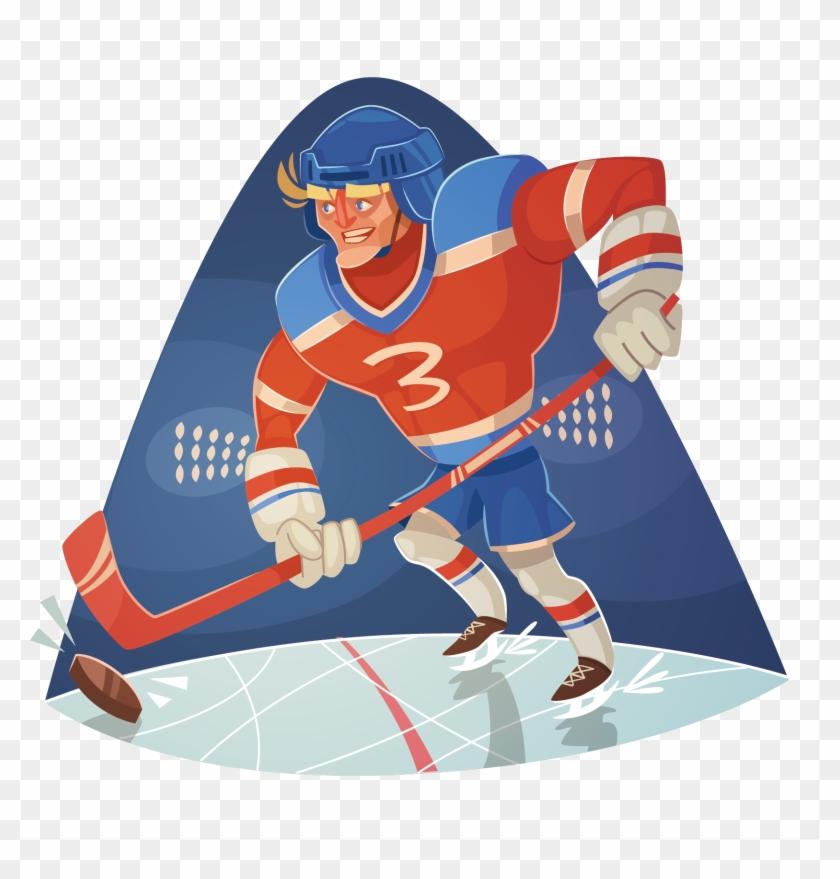 Ice Hockey Sports Equipment Football - Hockey Sport Cartoon #76173