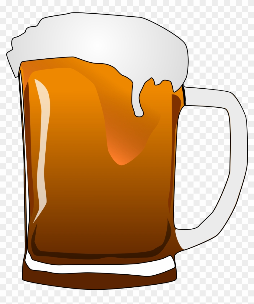Beer Cartoon Clip Art - Beer Mug Clipart #76269