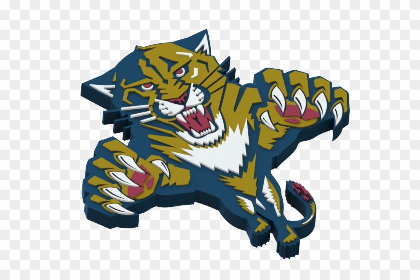 Florida Panthers Ice Hockey Team Logo - Wincraft Florida Panthers 3 X 5 Flag (nhl) #76459